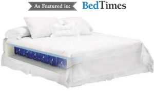 garden sleep mattress featured in bed times